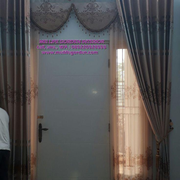 gorden untuk pintu utama atau pintu depan