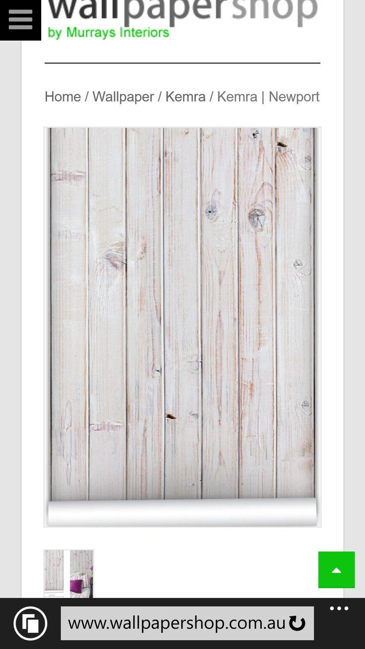 Wood panelled wallpaper
