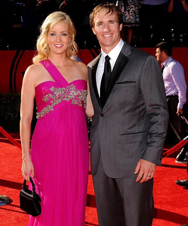 #TeamSmallBiz Stanchions at the top of the sports world.  Drew and Brittany Brees