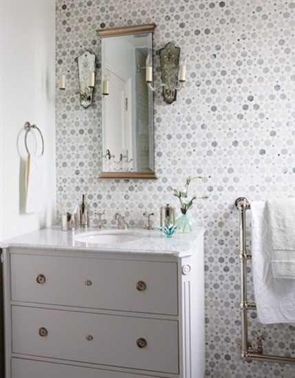 Bathroom Wallpaper Ideas   ... bathroom design, light bathroom wallpaper  and white decorating - 171 Best Bathroom Ideas Images On Pinterest Bathroom Ideas, Room