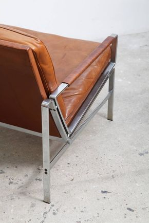 Lounge Armchairs Modell FK 6720 by Preben Fabricius and Jørgen Kastholm at 1stdibs