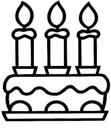 17 best images about anniversaire dessin on pinterest - Coloriage gateau anniversaire ...