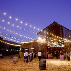 A simple, country backyard barn wedding + a lemonade stand!