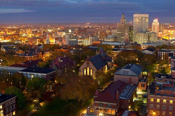 Brown University and Providence, RI