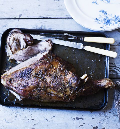 Mary Berry doesn't just make amazing cakes - she also knows a good roast dinner. Try her lamb shoulder with a rosemary and paprika rub
