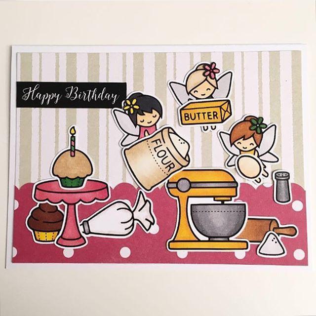 Day 8 for #thedailymarker30day I would like to wish @chaosmanagerin a very happy birthday 😍 using @lawnfawn and my #spectrumnoirmarkers! #cardmaking #handmade #handmadecard #greetingcard #birthdaycard #papercraft #crafting #lawnfawn #kaartje #kaart #knutselen #wenskaart #verjaardagskaart #handgemaakt #dutchlawnfawnlovers
