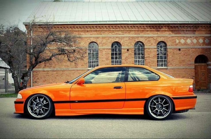 BMW E36 M3. Almost looks like mine just glossier. And nicer rims. And a M3...