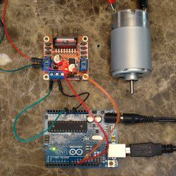 Brushed DC Motor Tutorial | Arduino Board