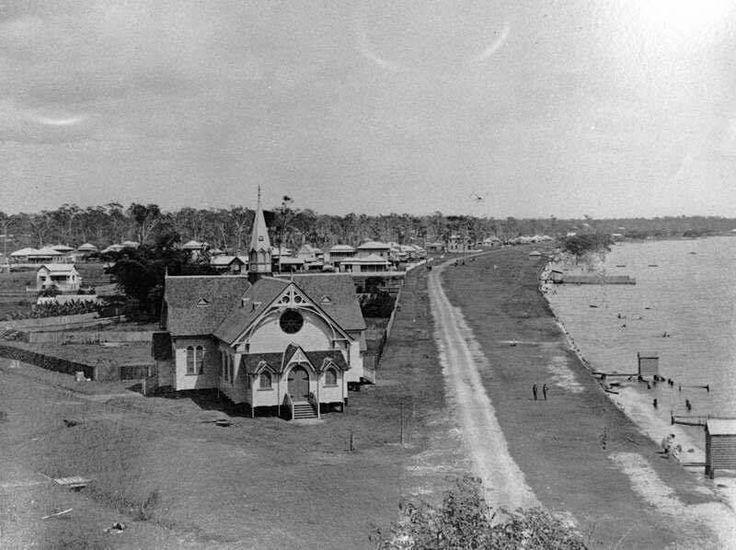 Flinders Pde,Sandgate in Queensland in 1911.