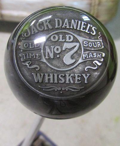 HouseOspeed - Hot Rod Shift Knob - Vintage Jack Daniel's Old No 7 Whiskey Shift Knob, $75.00 (http://www.hotrodshiftknob.com/vintage-jack-daniels-old-no-7-whiskey-shift-knob/)