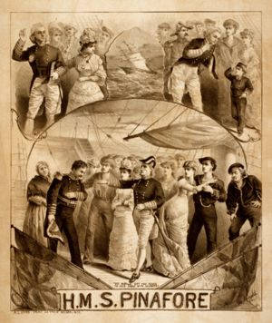 """in performance: Young Victorian Theatre Company """"HMS Pinafore"""" - Sybaritic Singer"""