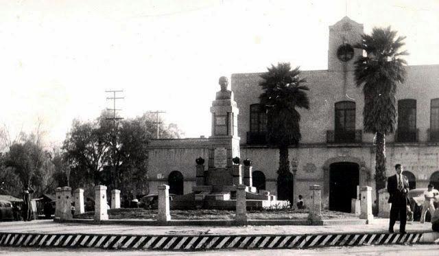 Tacuba, Palacio Municipal, ca. 1950.