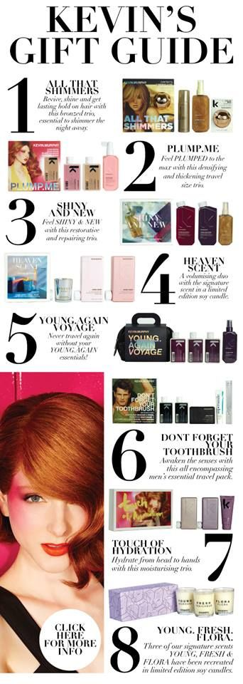 The Kevin Murphy Holiday Gift Guide