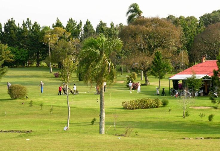 Golfing at Itaara Golf