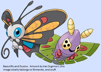 Pokémaniacal: The Top Ten Worst Pokemon Ever, #3: Beautifly ...