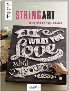 String Art - Fadengrafik mit Nagel & Faden