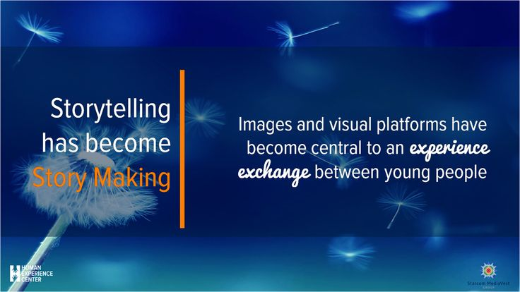 For Millennials Storytelling has become #visualstorymaking - with visual platforms at the heart of the experience exchange #HEC