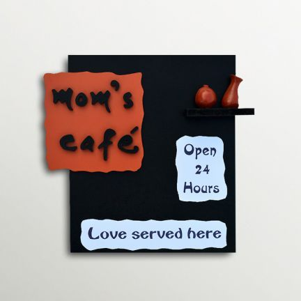 eCraftindia Wooden Mom Cafe Wall Hanging - Add oodles of style to your home with an exciting range of designer furniture, furnishings, decor items and kitchenware. We promise to deliver best quality products at best prices.