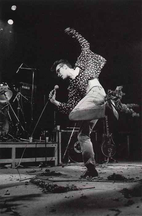 Loving Morrissey's shirt- The Smiths
