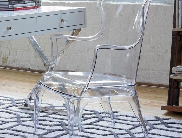 chaise design fauteuil transparent