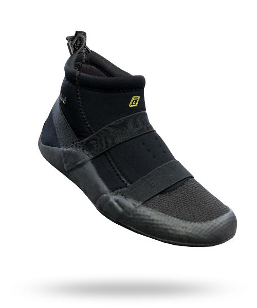 River Boot - Level Six - Paddling Gear - Paddle Sports - best dive boot ever.  Low profile fits easily into fins and lugage, provides foot protection from bums and scrapes as well as hot pavement.