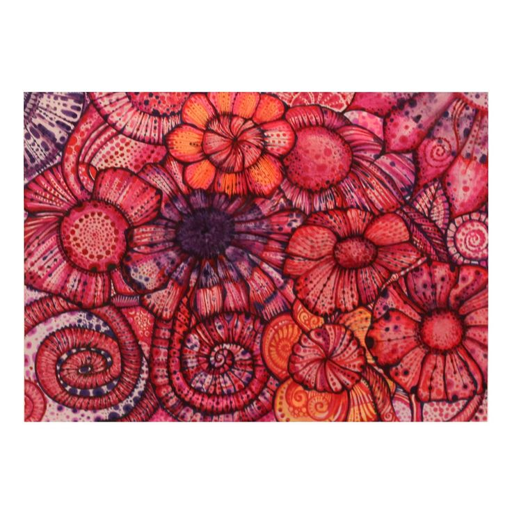 Liliowa łąka bez lilii  | Rysunek | 21 x 29,7 cm