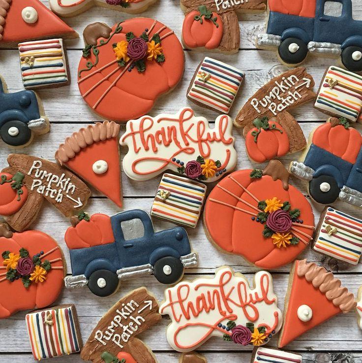 halloweencookiesdecorated (2020) Thanksgiving cookies