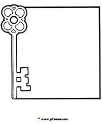 tekeningen van sleutels | Sleutels en deuren downloads » Juf Sanne
