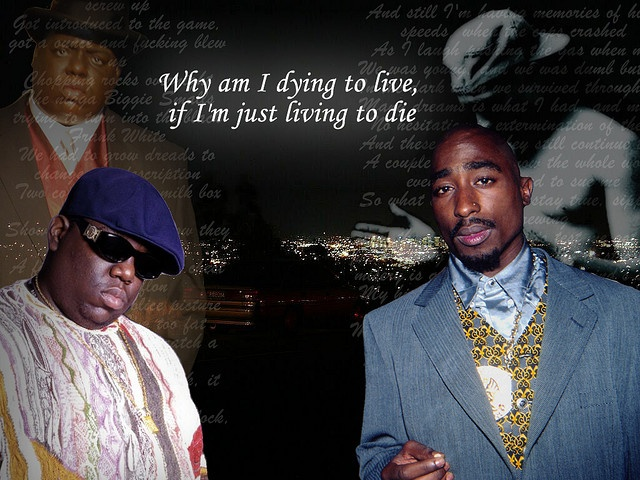 2pac Runnin (Dying to Live) Ft. Biggie by 2paCreed, via Flickr