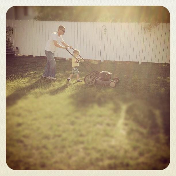 cuttin the grass