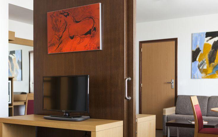 Una de nuestras suites en el hotel en Valencia. www.confortelvalencia.com