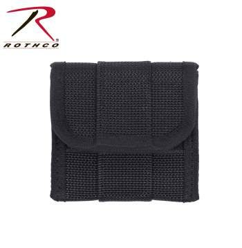"""Rothco Latex Glove Pouch for Police Duty Belt"" The Rothco Latex Glove Pouch for Police Duty Belt holds 1 pair of latex glove and fits all Rothco Duty Belts and is made from polypropylene web."