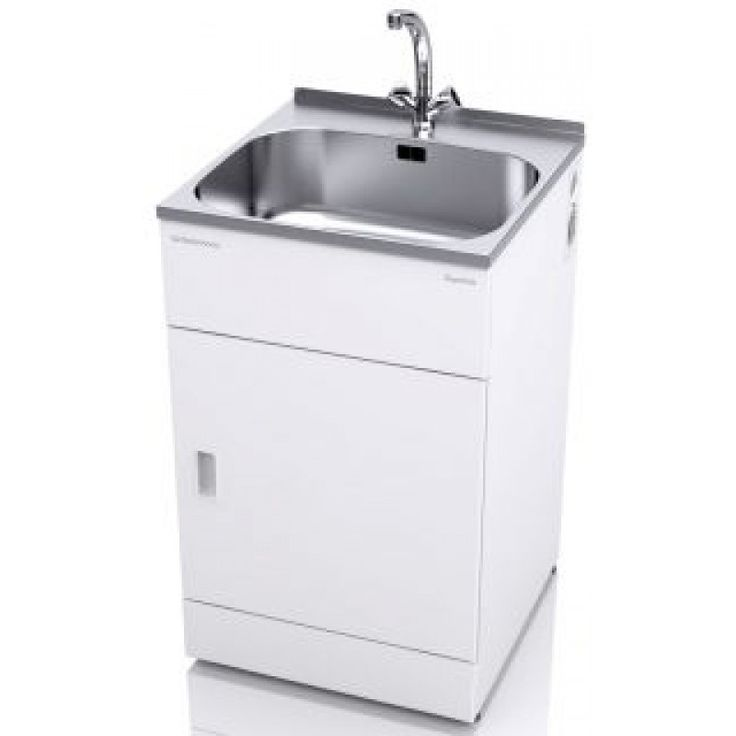 The ST3201 supertub is a great choice for your laundry and comes with a two-handed mixer tap suitable for lower or unequal water pressure.  The full cabinet width door now comes with an extra rigid double layer of powder-coated galvanised steel and a layer of polystyrene in between.  The doors have two simple magnetic catches, which are easy to open and close, so no more fiddly clips.  It has a clean flat surface area at the rear of the bowl and has a lip designed to be either covered with a…
