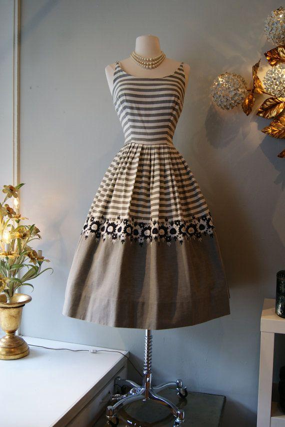 1950s Dress // Vintage 50s