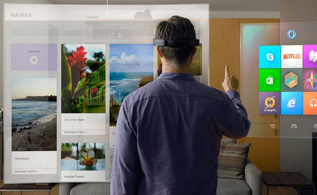 The Era of Holographic Computing is here Microsoft Hololens: Enabled by Windows 10