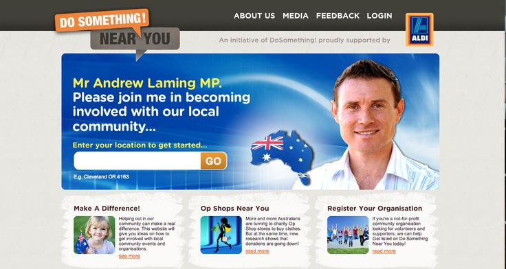 MP Andrew Laming, helping to make a difference by getting #involved. #volunteer