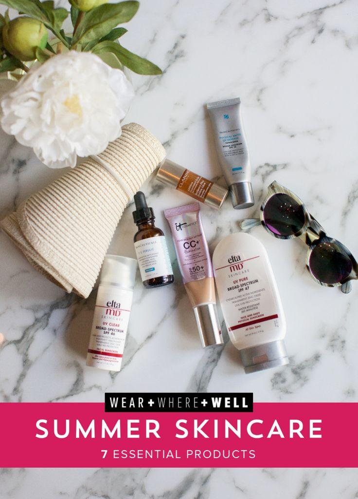 Wear + Where + Well : 7 Summer Skincare Essentials