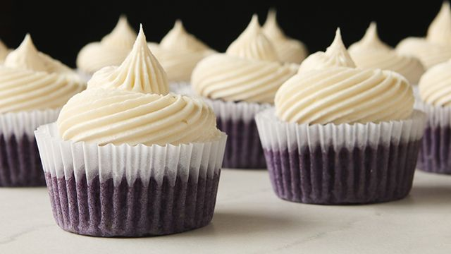 WATCH: How to Make Ube Cupcakes with Coconut Buttercream