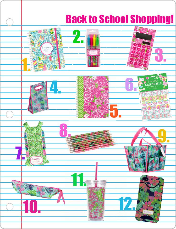 Check out our blog to make sure you have all your Lilly Pulitzer School Supplies!