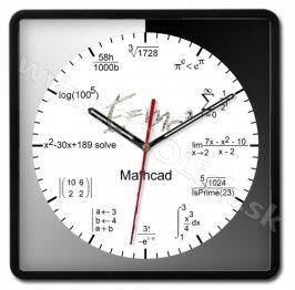 Nástenné hodiny MATH http://www.coolish.sk/sk/originalne-darceky/nastenne-hodiny-mathcad