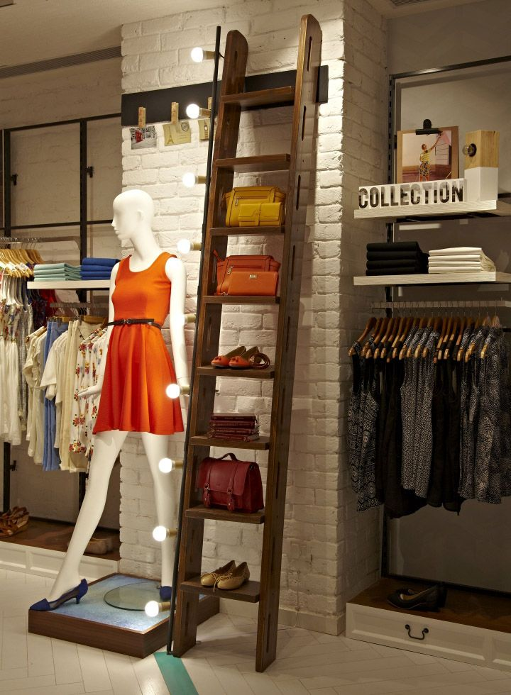 solly by allen solly store by restore new delhi india retail design blog - Storefront Design Ideas
