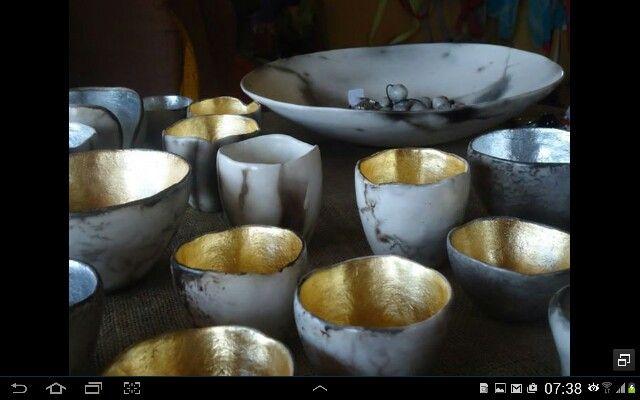 DIANE KOTZAMANIS.....LITTLE POTS OF SUNSHINE/ MOONSHINE TEA LIGHT HOLDERS.....Diane Kotzamanis..... https://m.facebook.com/pages/DK-Ceramics/476698149067003