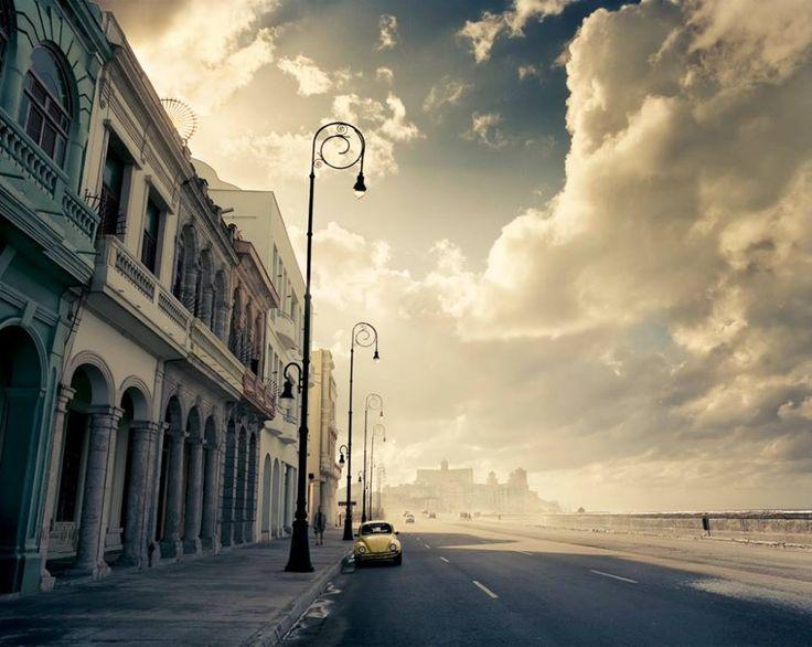 El malecón Habana cuba