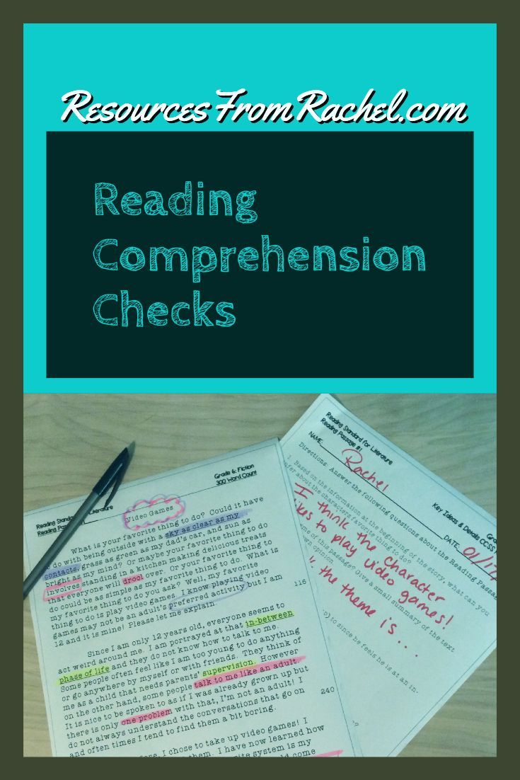 - Reading Comprehension Assessments For Grades 2-8. Special