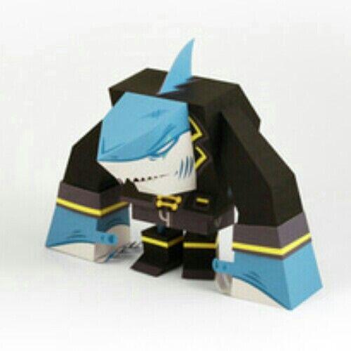 Shark papercraft