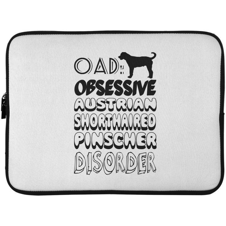 OAD Obsessive Australian Shorthaired Pinscher Disorder Laptop Cases