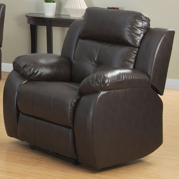This Power Recliner Chair can provide style and more importantly comfort. This Power Chair was constructed with a heavy-duty steel mechanism and a push button power control for the ability to recline.