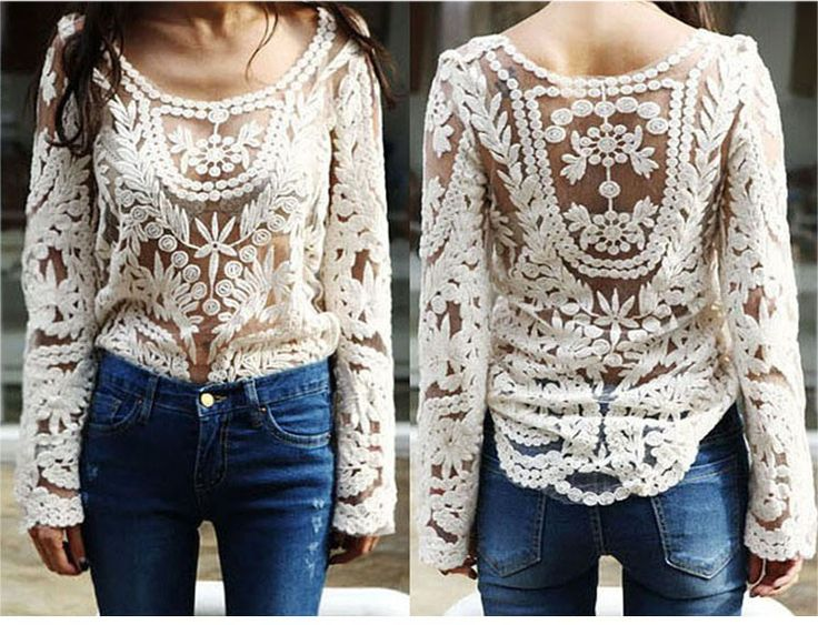 Long Sleeve Lace Top In Beige don't not buy, I sent for this, got some cheap looking top that didn't even look like this!