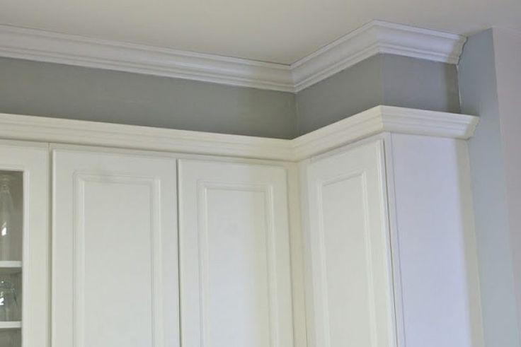 Wonderful Kitchen Soffit Ideas Hide Kitchen Soffit With Molding And Crown Molding Kitchen
