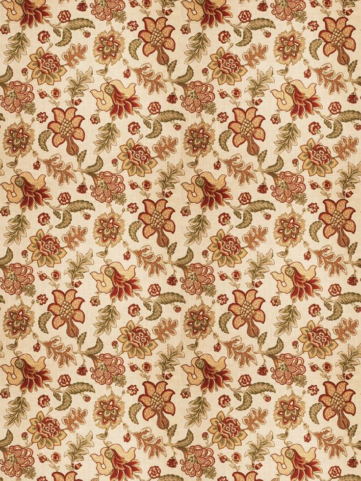 Stunning jacobean persimmon drapery and upholstery fabric by Fabricut. Item 8953202. Best prices and fast free shipping on Fabricut fabrics. Over 100,000 luxury patterns and colors. Only first quality. Swatches available. Width 54 inches.